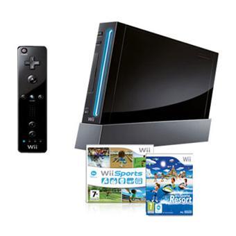 Console-Wii-noire-Nintendo-Wii-Sports-et-Wii-Sports-Resort-Edition-Limitee
